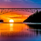 "The ""God"" Shot, Deception Pass Bridge"