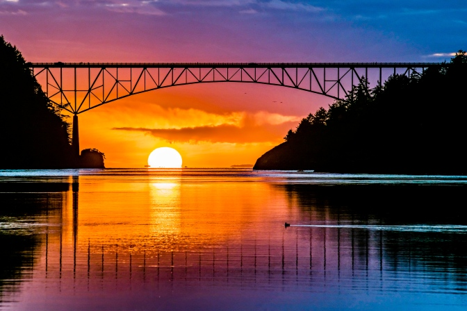 Deception Pass Bridge - Whidbey Island Washington