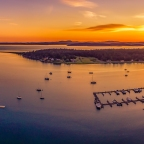Fisherman Bay Aerial Photography
