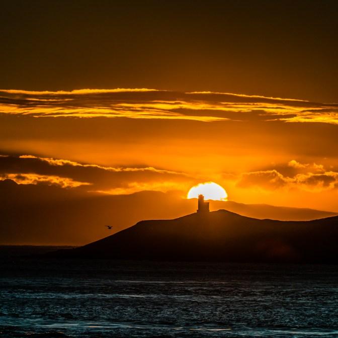 Cattle Point Lighthouse - Friday Harbor San Juan Island Washington